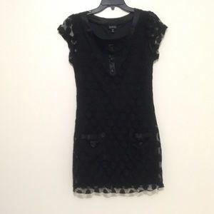 Dresses & Skirts - Cute little black polka dot dress